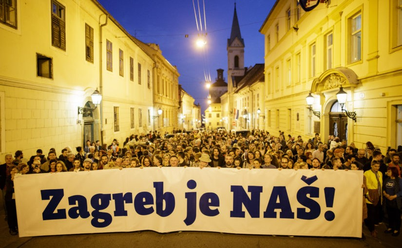 From the streets to the town halls: local governance and municipalist platforms in Croatia and Serbia
