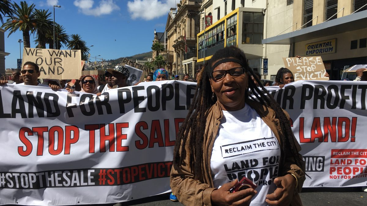Cape Town: a city in occupation